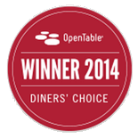 open table, diner's choice, 2014, recognition, award, positano's, italian restaurant, palm harbour, florida, fl