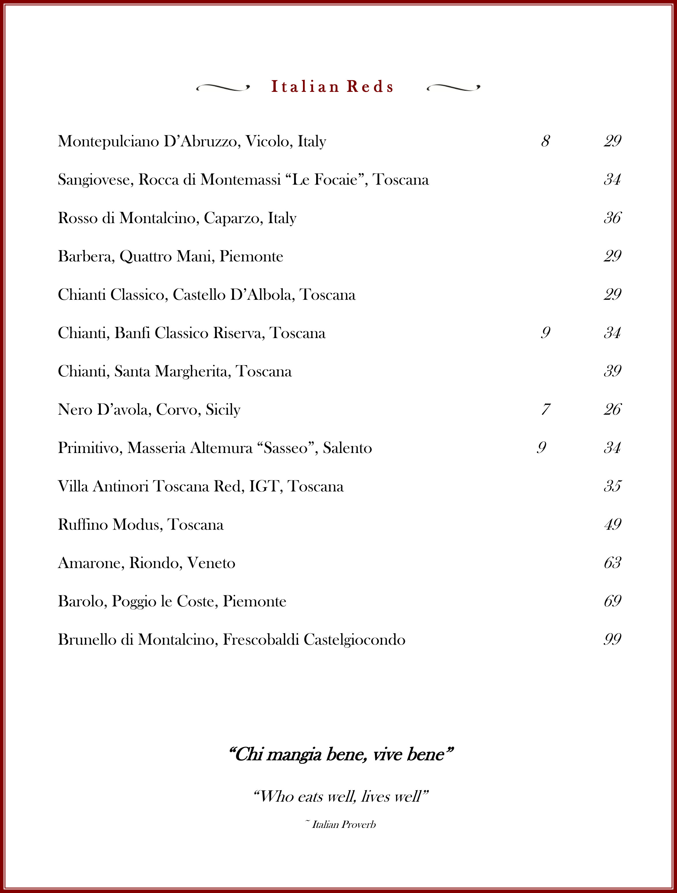 Wine List September 2015 pg 2